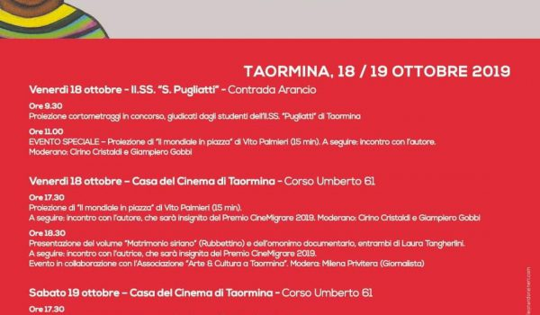 Taormina ospita CineMigrare, rassegna internazionale di cinema senza frontiere