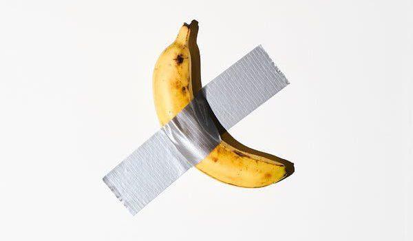 Una banana da 120 mila dollari, la stravaganza dell'arte di Cattelan