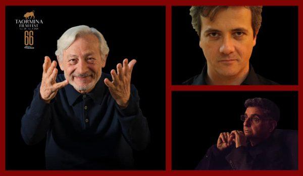 Leo Gullotta, Francesco Calogero e Francesco Alò nel nuovo comitato artistico del Taormina FilmFest