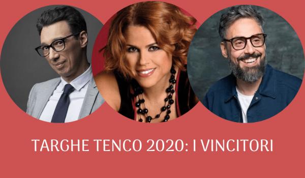 Decretati i vincitori delle Targhe Tenco 2020