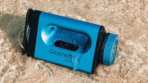 QuenchSea, primo dispositivo portatile ed economico che trasforma l'acqua salata in acqua potabile