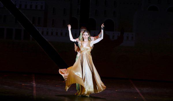 Eleonora Abbagnato sarà la protagonista di LOVE, nuova creazione di Giuliano Peparini in scena il 2 settembre al Teatro Antico di Taormina