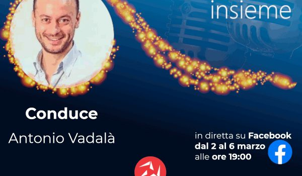 Sanremo Insieme: dal 2 al 6 marzo Antonio Vadalà ci porta al Festival