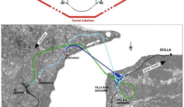 Il Ponte sullo Stretto di Messina? Meglio a più campate