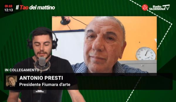 """Antonio Presti al """"Tao del Mattino"""""""